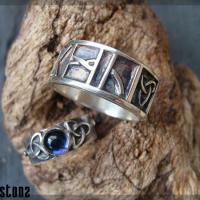 Handmade silver engagement rings